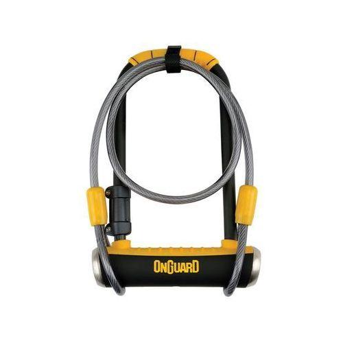 Zapiecie u-lock pitbull dt 8005 z linką marki Onguard