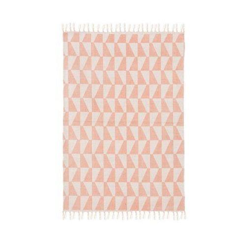 Inspire Dywan bawełniany gia różowy 60 x 90 cm