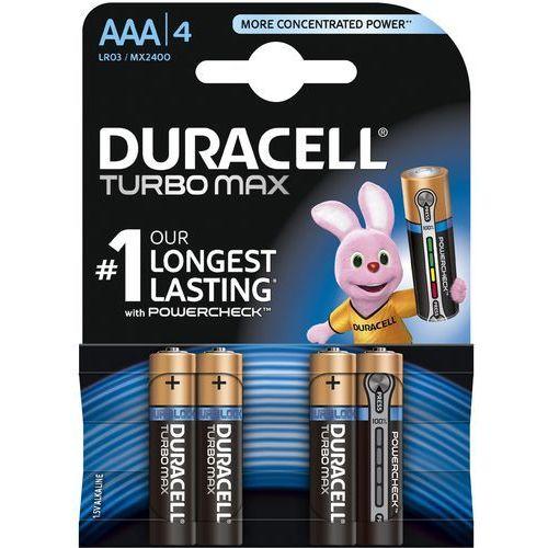 Duracell Bateria Turbo AAA/LR3 4szt. blister