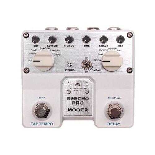 reecho pro, digital delay pedal, efekt gitarowy marki Mooer