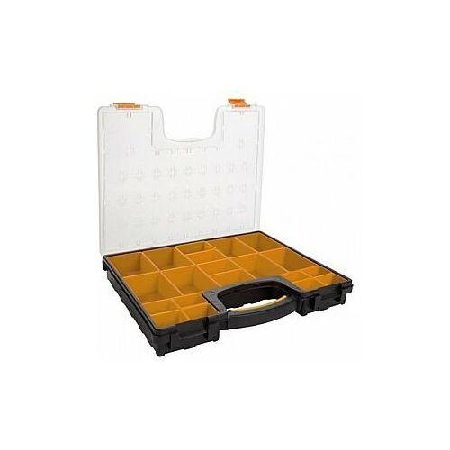 Perel PLASTIKOWY ORGANIZER Z WYJMOWANYMI POJEMNIKAMI - 420 x 335 x 65 mm