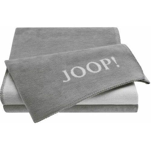 JOOP! koc Uni-Doubleface 150x200 cm, szary, kolor szary