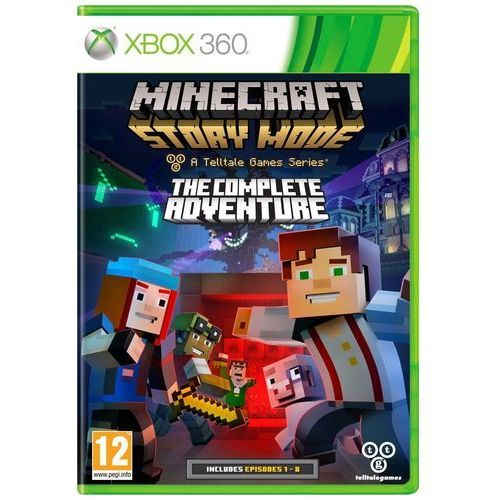 Minecraft Story Mode The Complete Adventure (Xbox 360)