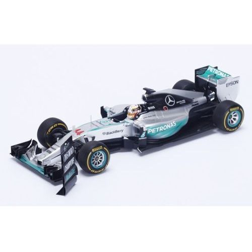 Spark Mercedes w06 #44 lewis hamilton winner us gp 2015 world champion 2015 (with pit board)