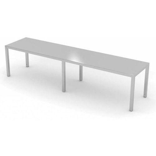 Polgast Nadstawka na stół jednopoziomowa | szer: 1500-1900 mm | gł: 400 mm