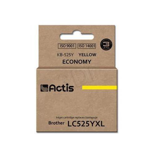 Actis Tusz  kb-525y (do drukarki brother, zamiennik lc525y standard 15ml yellow)