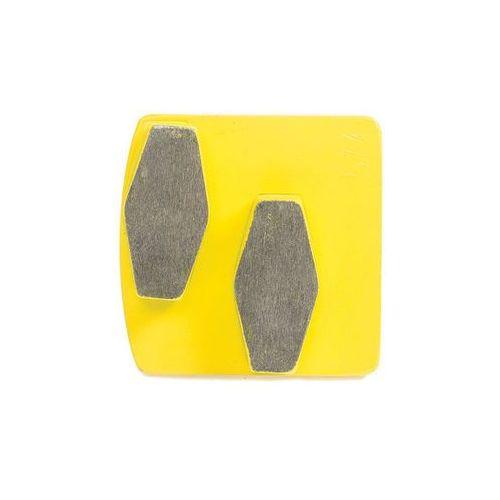 Scanmaskin Diamentowy segment szlifierski bauta double yellow (zestaw)