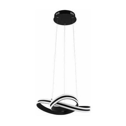 Eglo corredera 99249 lampa wisząca zwis 2x18w led czarna/biała (9002759992491)