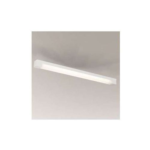 Minimalistyczna LAMPA sufitowa SUMOTO 8032/G5/BI Shilo łazienkowa OPRAWA prostokątna listwa IP44 belka biała, 8032/G5/BI