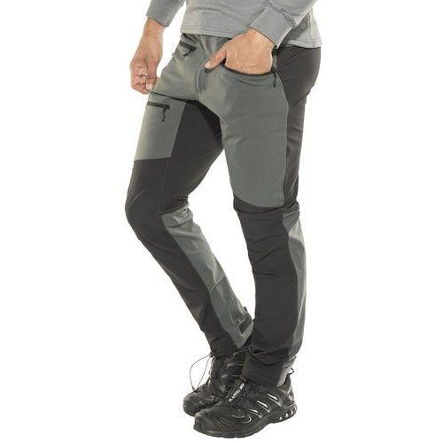 rugged flex spodnie długie mężczyźni szary l 2018 spodnie turystyczne marki Haglöfs