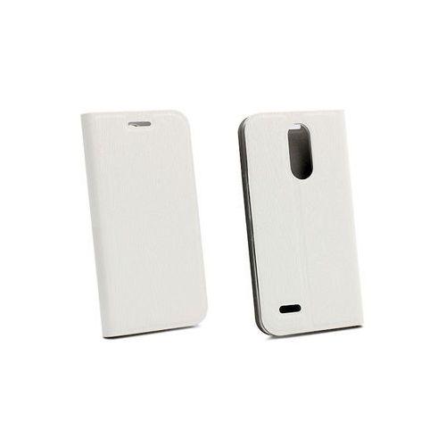 LG K4 (2017) - etui na telefon Flex Book - biały, ETLG493FLBKWHT000