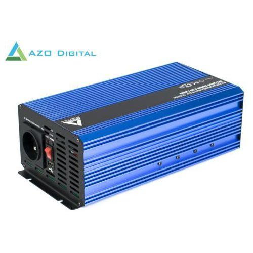 Przetwornica napięcia 12 vdc / 230 vac sinus ips-2000s 2000w marki Azo digital