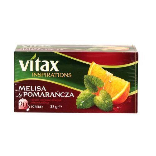 Lipton Herbata ekspresowa melisa/pomarańc vitax 20t