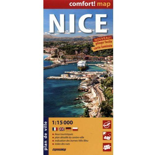 ExpresMap Nicea laminowany plan miasta 1:15 000
