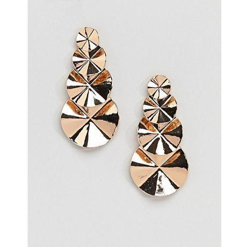 circle tiered gold earrings - gold marki Aldo