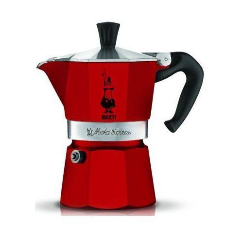 kawiarka moka express czerwona 1 porcja marki Bialetti