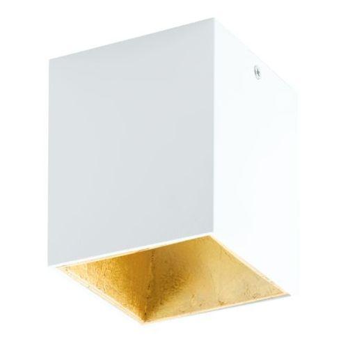 Lampa sufitowa polasso biało/złota, 94498 marki Eglo