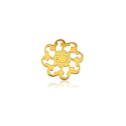 Ozdobna Zawieszka Rozeta, złoto próby 585