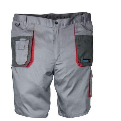 Szorty ochronne szare comfort line 190g/m2 marki Dedra exim sp z.o.o.