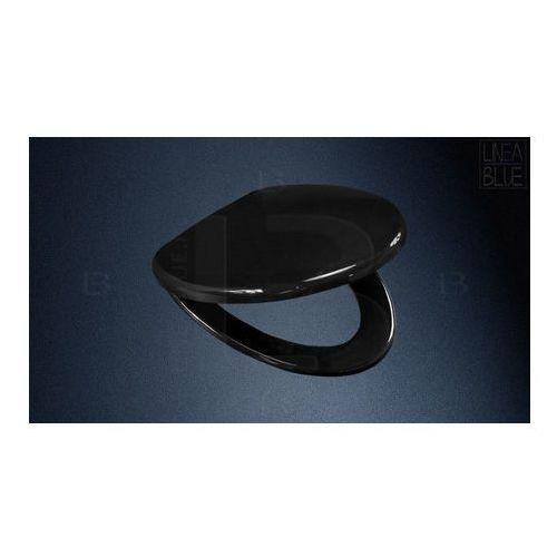 Lineablue Deska sedesowa wolnoopadająca ds-301 black