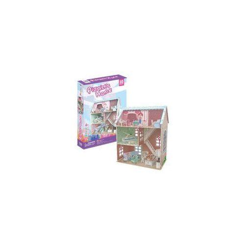 Cubicfun Puzzle 3d domek dla lalek pianist