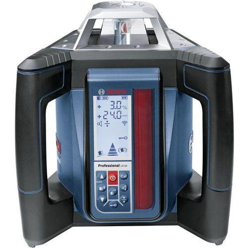 Laser rotacyjny grl 500 hv + lr 50 0601061b00, zakres (maks.): 20 m, kalibracja: fabryczna (bez certyfikatu) marki Bosch professional