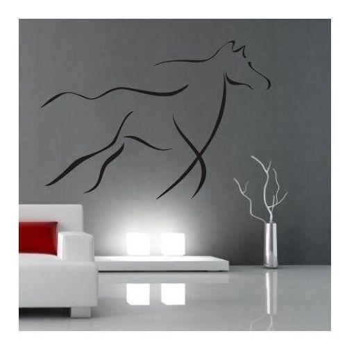 Wally - piękno dekoracji Naklejka koń 06