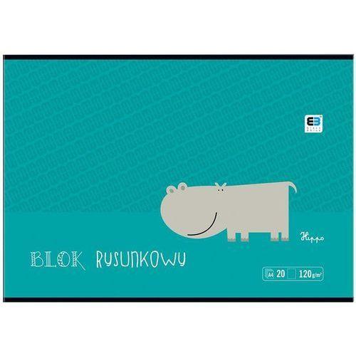 Blok rysunkowy INTERDRUK A4 BB Kids 20k. 120g.