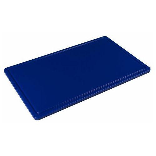 Tom-gast Deska z polietylenu haccp niebieska