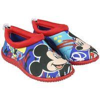 Disney chłopięce buty do wody mickey mouse 24 czerwone/niebieskie (8427934257546)