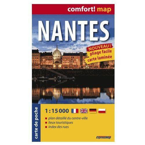 ExpressMap Nantes Plan Miasta 1:15 000 comfort! map (2014)