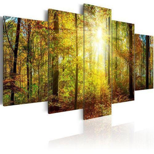 Obraz - mistyczny las marki Artgeist