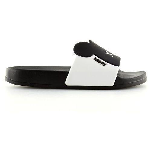 Buty obuwie damskie Klapki silikonowe xoxo czarne j10761b black