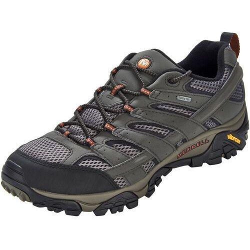 Merrell moab 2 gtx buty mężczyźni szary/fioletowy uk 11,5 | 46,5 2018 buty podejściowe (0720026474745)