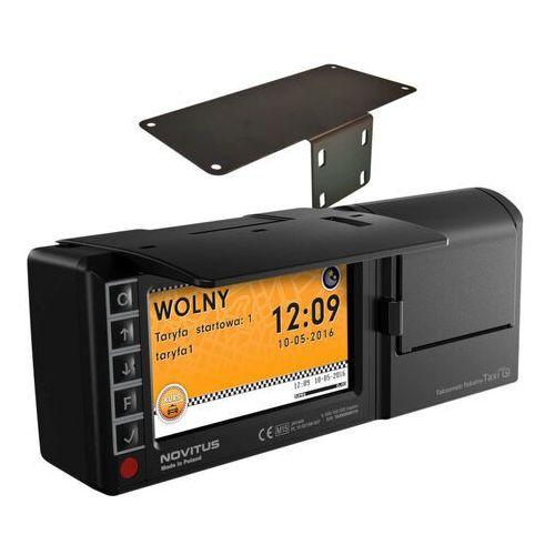 Novitus Taksometr fiskalny taxi e + uchwyt samochodowy taxi e + montaż za 1 pln