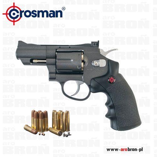 Crosman Wiatrówka rewolwer  snr357 4,5 mm - co2, kulki bb, diabolo, metal, sa/da, kategoria: pistolety