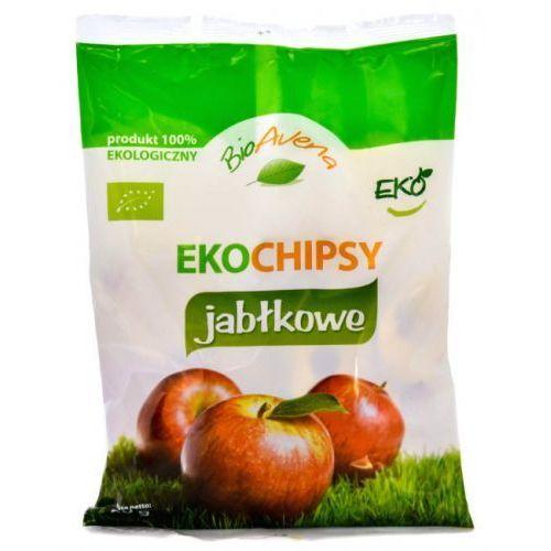 EKO Chipsy Jabłkowe 80g - BioAvena (przekąska)