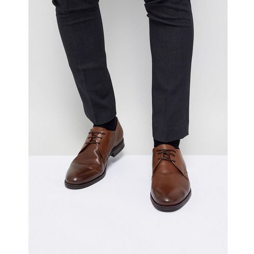 leather derby shoes - brown, Jack & jones