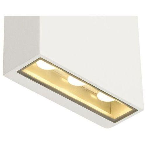 BIG QUAD oprawa ścienna kwadratowa, biały, 6x 1W LED , ciepły biały