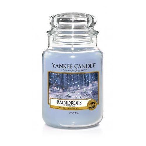 YANKEE CANDLE Large Jar duża świeczka zapachowa Raindrops 623g (5038581033204)