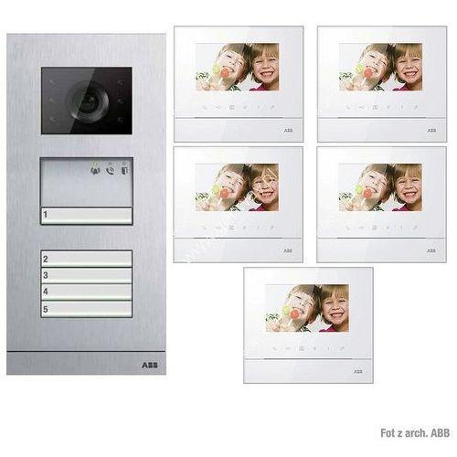 ABB Zestaw wideo 5-rodzinny ABB WELCOME BASIC GN2913 - Autoryzowany partner ABB, Automatyczne rabaty.