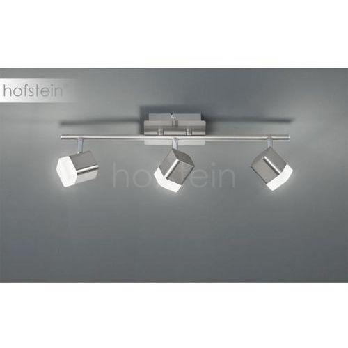 Reality ROUBAIX reflektor LED Nikiel matowy, 3-punktowe - Nowoczesny - Obszar wewnętrzny - ROUBAIX - Czas dostawy: od 3-6 dni roboczych (4017807391442)