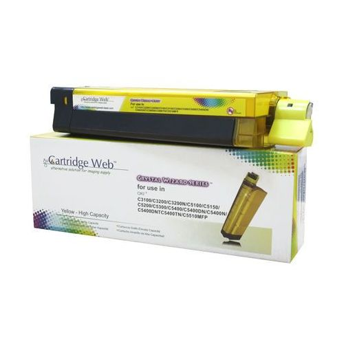 Toner Yellow OKI C3100/C5100/C5450 zamiennik 42804513/42127405/42127454, CW-O3100YN
