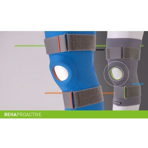 Erhem Stabilizator stawu kolanowego z otworem na rzepkę rehaproactive stabilizator, staw kolanowy, otwór na rzepkę, rehaproactive, erh 35/r