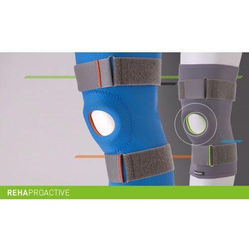 Stabilizator stawu kolanowego z otworem na rzepkę REHAproactive Stabilizator, staw kolanowy, otwór na rzepkę, REHAproactive, ERH 35/R