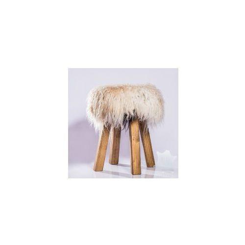 Ekskluzywne krzesło dekoracyjne z futrem [ID23]