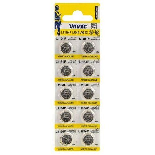 Vinnic 10 x bateria alkaliczna mini g13 / ag13 / l1154 / lr44/157 / v13ga / rw82 / a76 (4898338000030)
