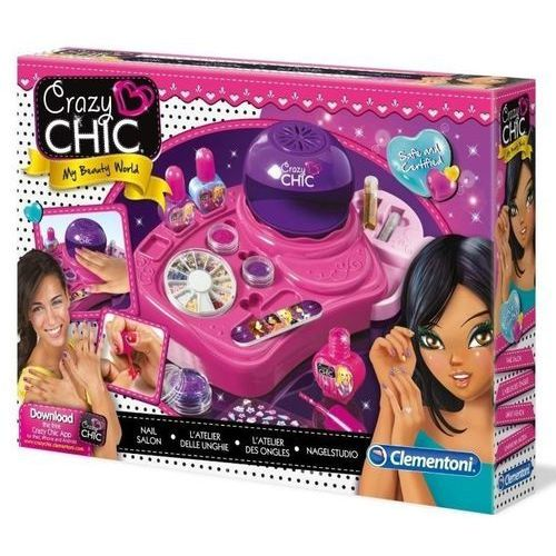 Clementoni Crazy Chic. Studio paznokci - Clementoni (8005125783397)