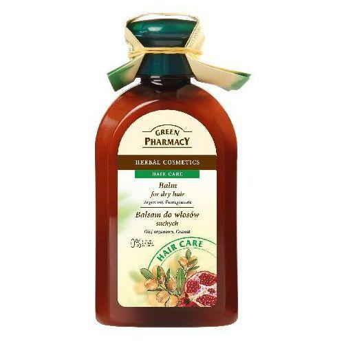 Green Pharmacy Balsam do włosów z olejem arganowym i granatem do włosów suchych - Elfa Pharm OD 24,99zł DARMOWA DOSTAWA KIOSK RUCHU (5904567051671)