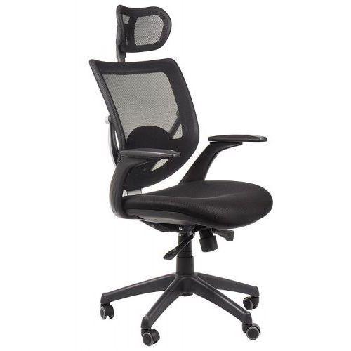 Fotel biurowy gabinetowy KB-8904/CZARNY - krzesło obrotowe, KB-8904/CZARNY